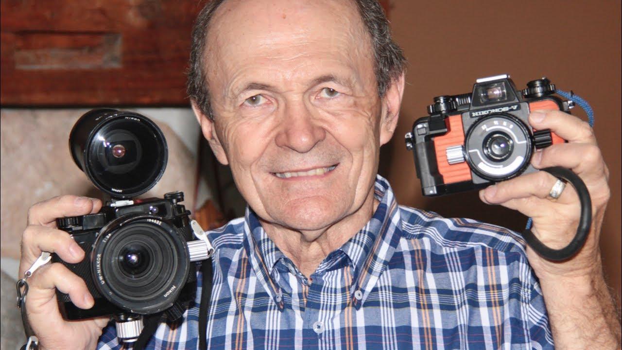scuba vintage nikonos Camera