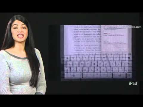 iPad - How to search google or wikipedia