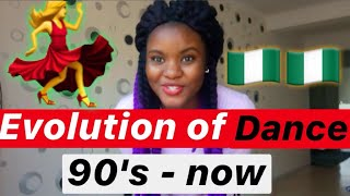 EVOLUTION OF DANCES IN NIGERIA ????????
