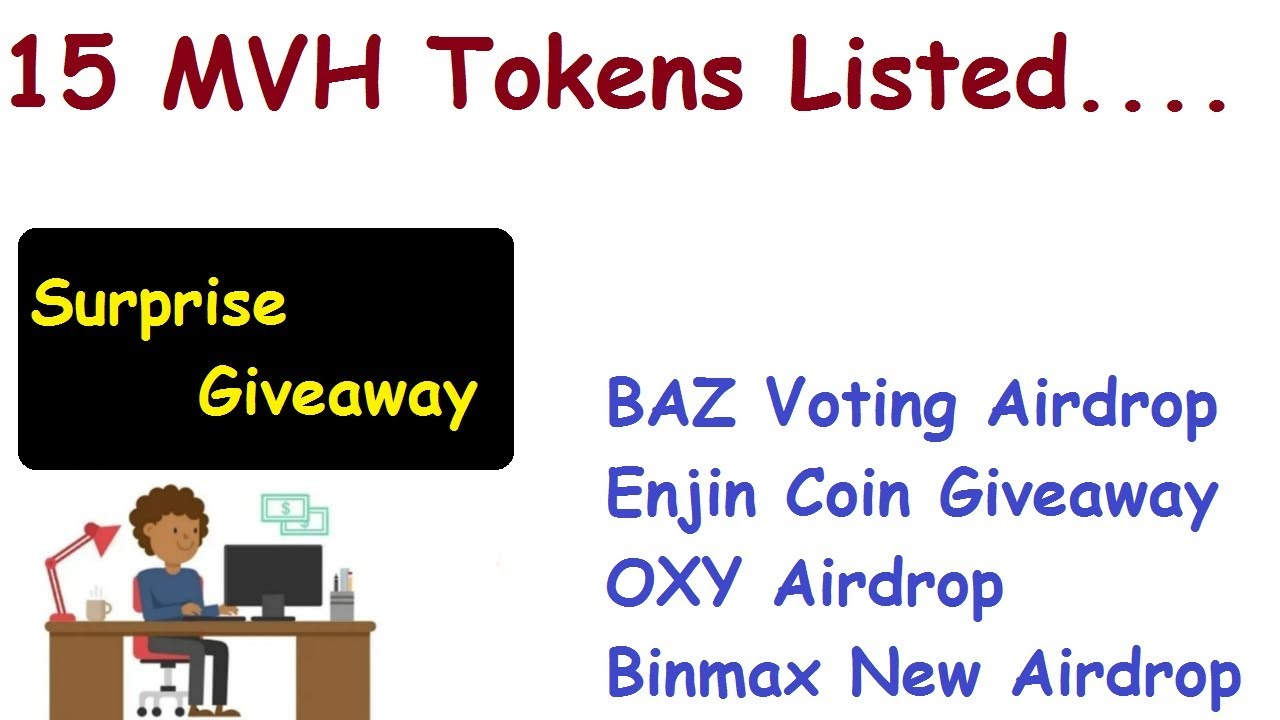 15 MVH Exchange Listed Coins|Get Baz Token & Enjin Coin Airdrop 5