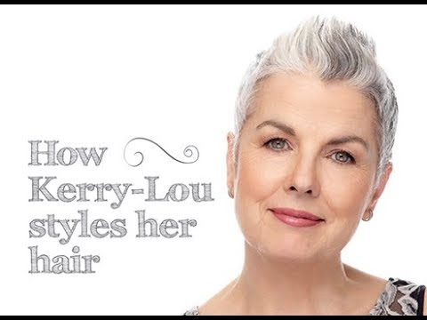How Kerry Lou Styles Her Short Hair Youtube