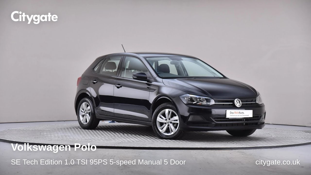 Volkswagen Polo - SE Tech Edition 1.0 TSI 95PS 5-speed Manual 5 Door - Citygate Volkswagen Chalfont - YouTube