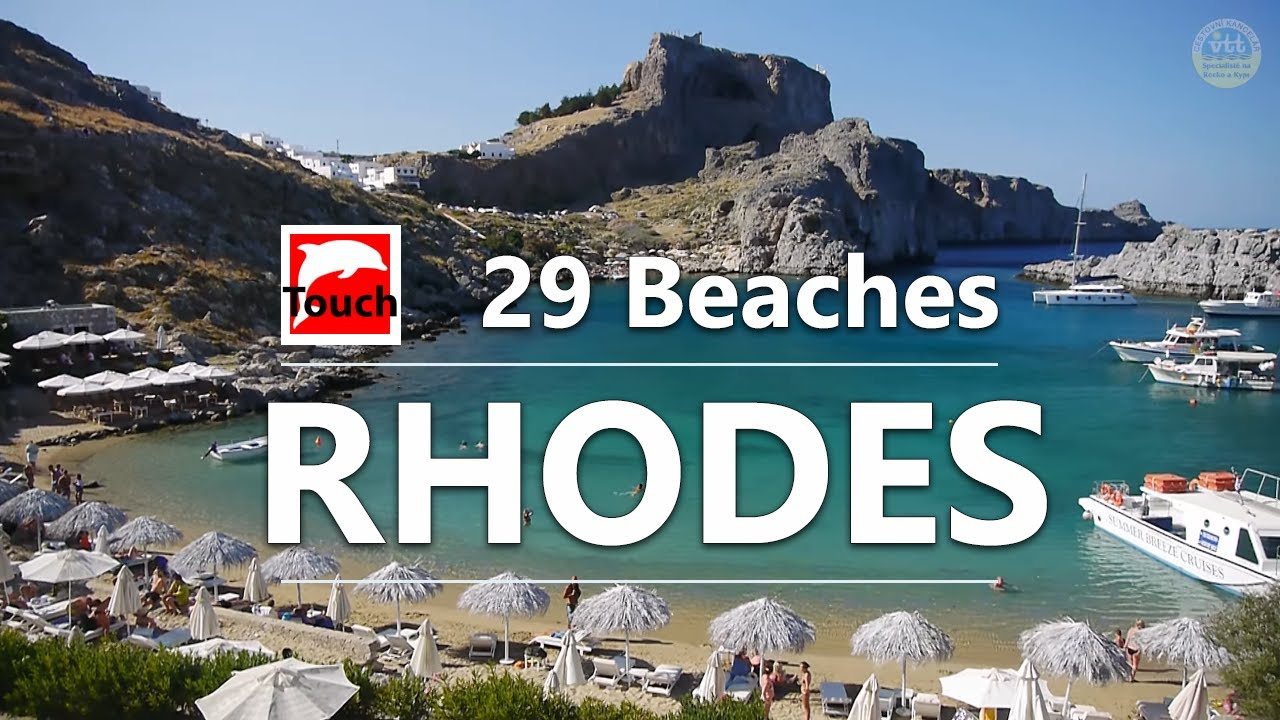 Amazing Beaches Of Rhodes Island Greece  Min