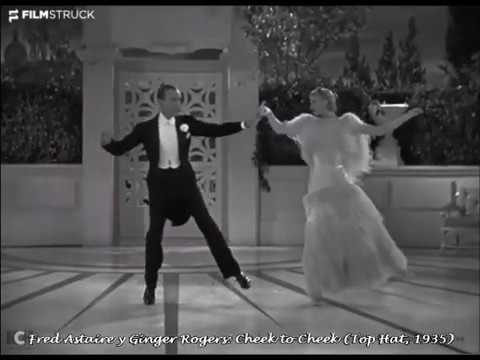 Fred Astaire Y Ginger Rogers Bailando Cheek To Cheek Youtube