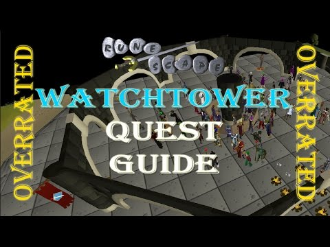 Road to Quest Cape Ep. 5 - Watchtower - Runescape 2007 Quest Guide