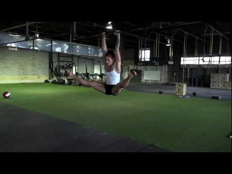 Straddle Half Leg Lifts