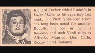 Richard Tucker in Luisa Miller (1968 Met broadcast)