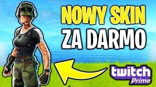 NOWY DARMOWY SKIN!!! Fortnite | Twitch Prime