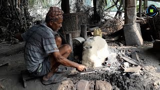 Village Life in Nepal Making Khukuri and Kodalo गाउँले जीवन खुकुरी र कोदालो