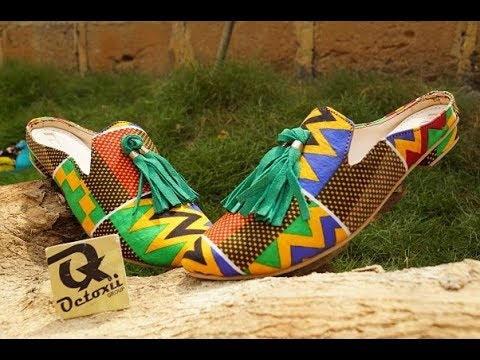 Classic Mule shoe making 2018 Ankara