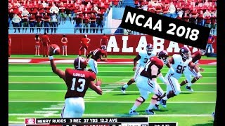Alabama Football Ratings for NCAA Football 2018