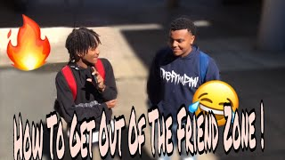 HOW TO GET OUT OF THE FRIEND ZONE || Public Experiment