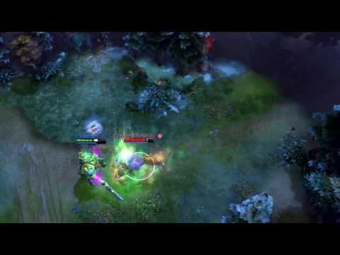 видео: Дуэль в Дота 2 ursa vs wraith king!