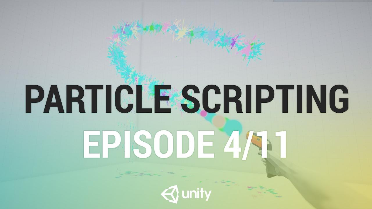 Controlling Particles Via Script - Particle Launcher Script [4/11] Live 2017/2/8