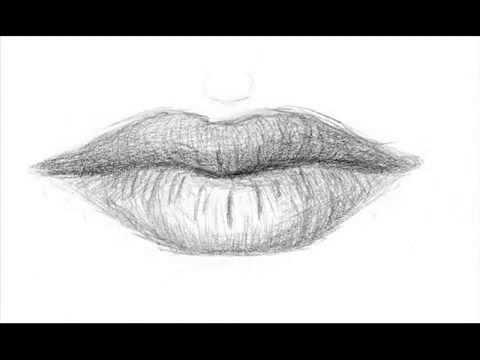 تعليم الرسم تعلم رسم الفم الخطوات Youtube