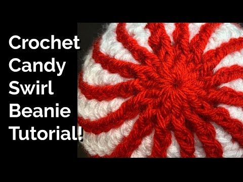 Candy Swirl Hat Crochet Tutorial! thumbnail