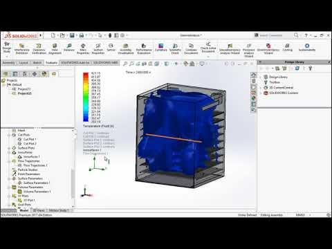 Fish Drying Machine With Simulation And Analysis