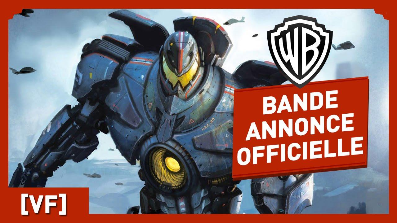 Pacific Rim - Bande Annonce Officielle (VF) - Guillermo Del Toro / Charlie Hunman / Idris Elba