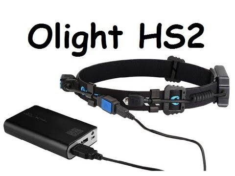 The all new Olight HS2 headlamp