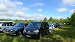 Der Tages Besucher Parkplatz von der Abenteuer Allrad Messe Bad Kissingen die Off Road Messe
