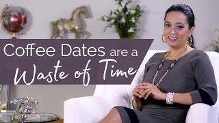 Entrepreneur advice to aspiring business owners - Avoid coffee dates