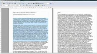 02 Zeichen zählen - OpenOffice / LibreOffice Writer Writer