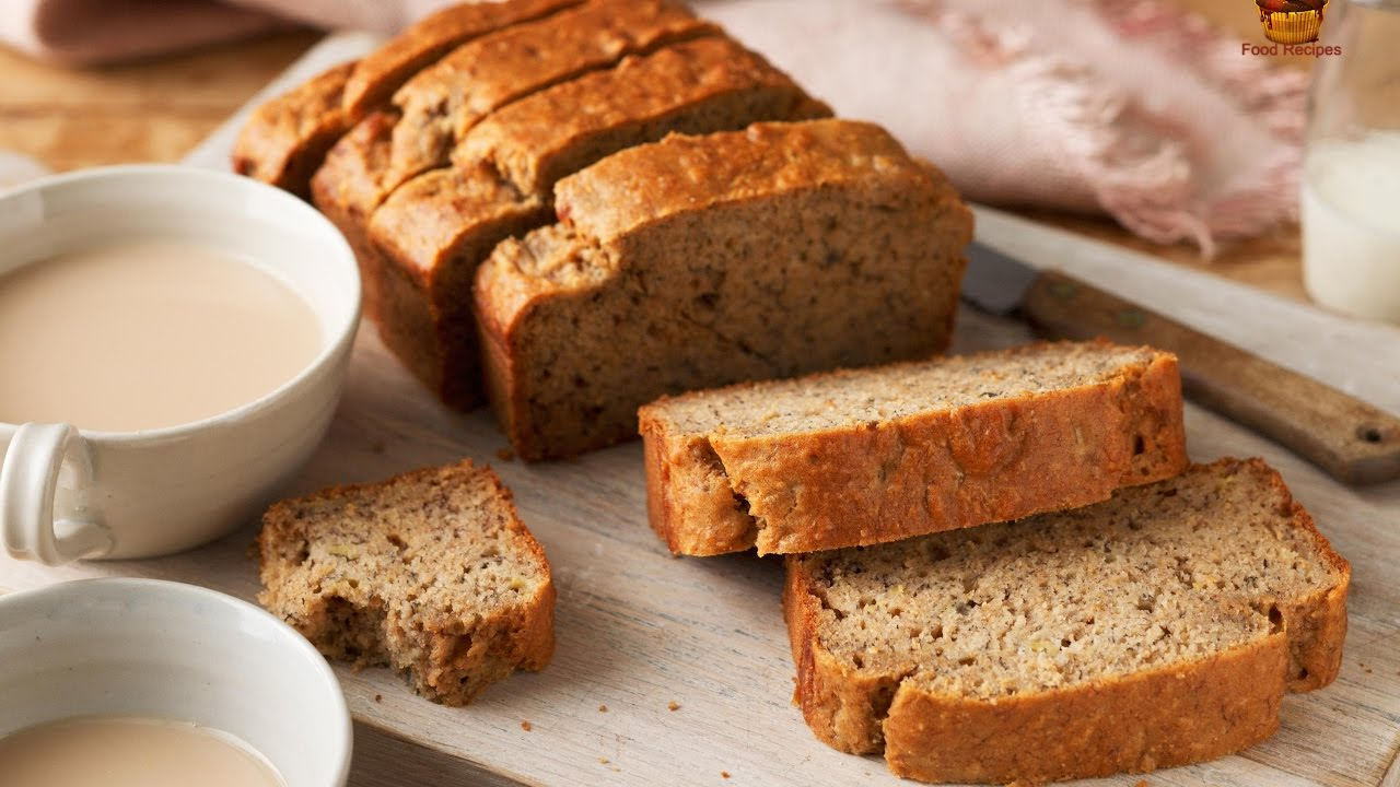 How to make low fat banana bread recipe easily youtube how to make low fat banana bread recipe easily forumfinder Image collections
