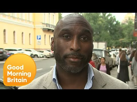 Piers Blanked Sol Campbell at Chelsea Flower Show and He's Bitter About It | Good Morning Britain