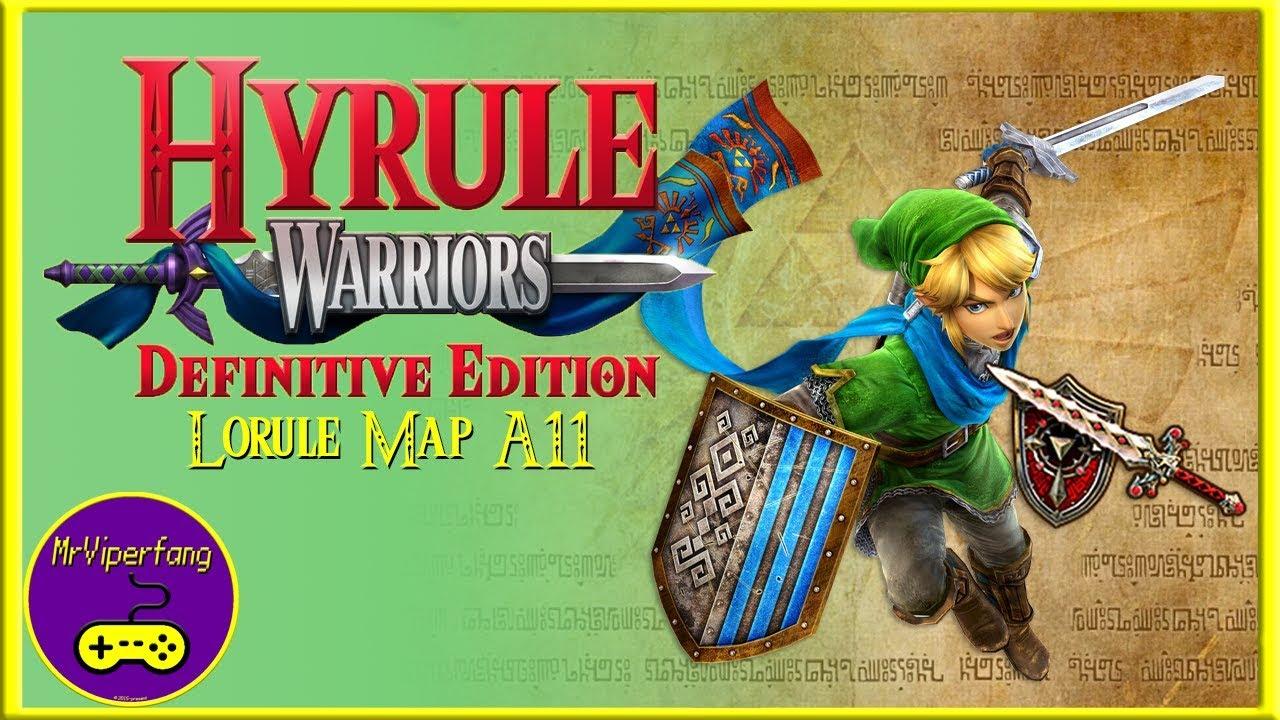 Hyrule Warriors Switch Lorule Map A11 Obtaining Link S Darkmagic Sword Youtube
