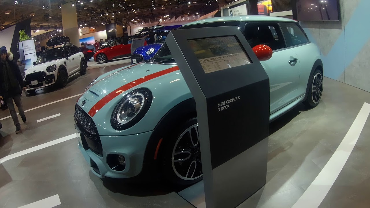 2019 Mini Cooper S Ice Blue Edition JCW
