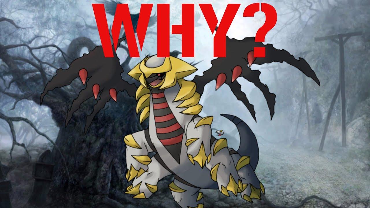 Why Mega Evolve? #83 Giratina - YouTube