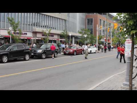 Preston Street right after the June 23 2010 Ottawa earthquake
