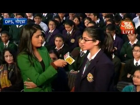 School kids in India show solidarity with Pakistan