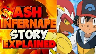 Ash Infernape Story Explained || Hindi
