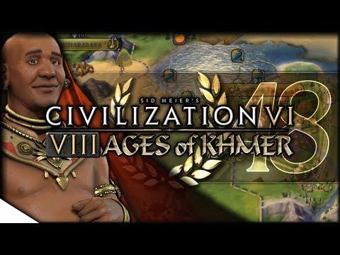 NUCLEAR WAR FOR ... BUDDHISM | Civilization VI — 8 Ages of Khmer 48 | Terra Emperor