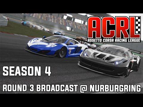 ACRL Season 4 EU PRO GT3 Round 3 @ Nurburgring GP