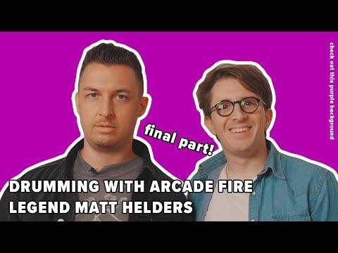Drumming with Arcade Fire Legend Matt Helders (3/3)