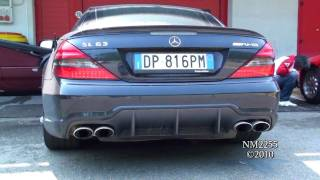 Mercedes SL63 AMG Loud Revs!