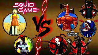 Shadow Fight 2 The Squid Game Vs All Legendary Monsters screenshot 3