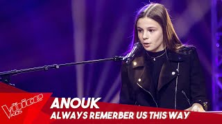 Anouk - 'Always remember us this way' | Blind Auditions | The Voice Kids Belgique