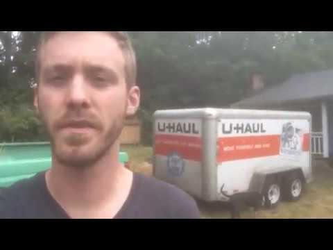 Uhaul 6x12 Trailer Review