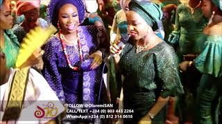 Ore and Dolapo's Traditional Engagement Wedding by OluremiSAN (Senior Alaga of Nigeria)