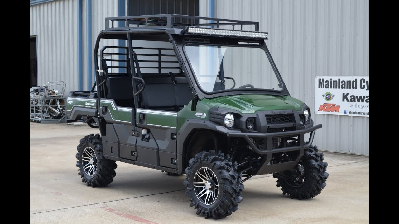 $17,299: Custom Outfitted 2015 Kawasaki Mule Pro FXT EPS ...