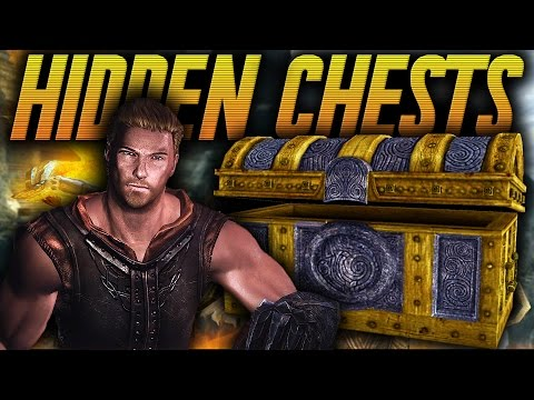 Skyrim Remastered - TOP 5 Most Valuable Hidden Chests #1 (Secret Chests in Skyrim)