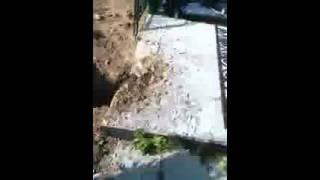 На кладбище вскрыли могилу