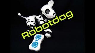 perro robot a control remoto ideal para que los niños jueguen y se diviertan