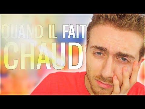 9 CHOSES QUE JE FAIS QUAND IL FAIT TROP CHAUD