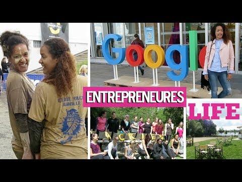 [ENTREPRENEURES VLOG #3] UN WEEK-END AVEC NOUS atelier Google, course d'obstacle & BEAUTYCAMP