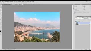 Урок по обработке пейзажей.уроки adobe photoshop на русском
