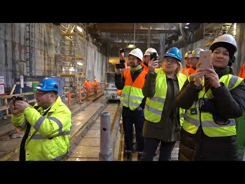 ZÜBLIN A/S - Project Copenhagen Metro: Tunnel Breakthrough